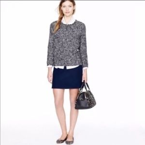 Felted Wool JCrew Mini Skirt